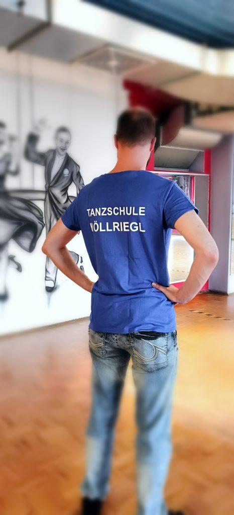 T-Shirt - Herren, blau