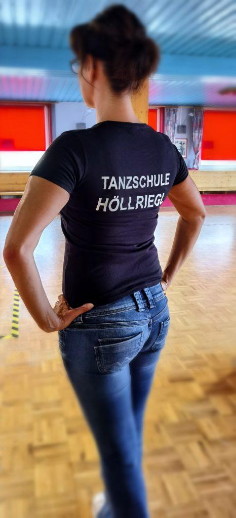 T-Shirt - Damen, schwarz