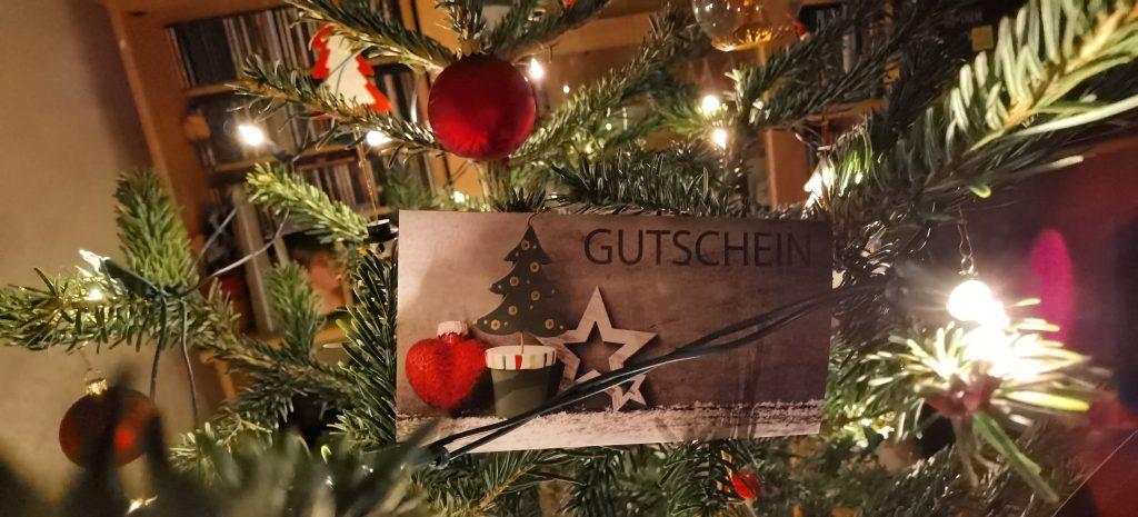 Weihnachts-Gutschein (braun)